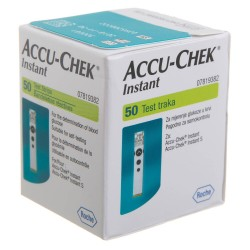Accu-Chek Instant Blood Glucose Test Strips 50 pcs