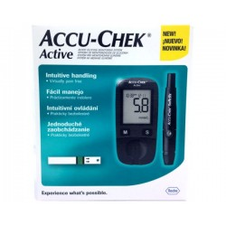 Blood glucose meter device Accra check Active