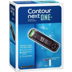 Blood glucose meter device Contour next one