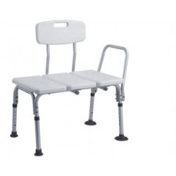 Shower Chair,3 Blow Molding Plates Aluminium