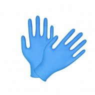 Nitrile Gloves Powder Free.  Box/ 100 pcs.