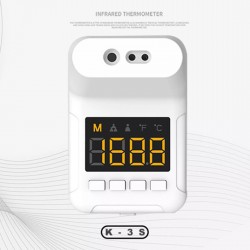 Non Contact K3S Wall mount Thermometer Infrared Thermometer with LCD Display