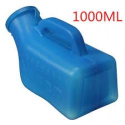 Reusable translucent urinals with odor shields