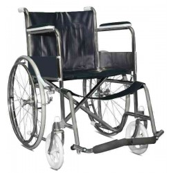 Steel Foldable Economic Cheapest Wheelchair  FS-809