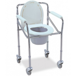 Commode Chair Fold-able