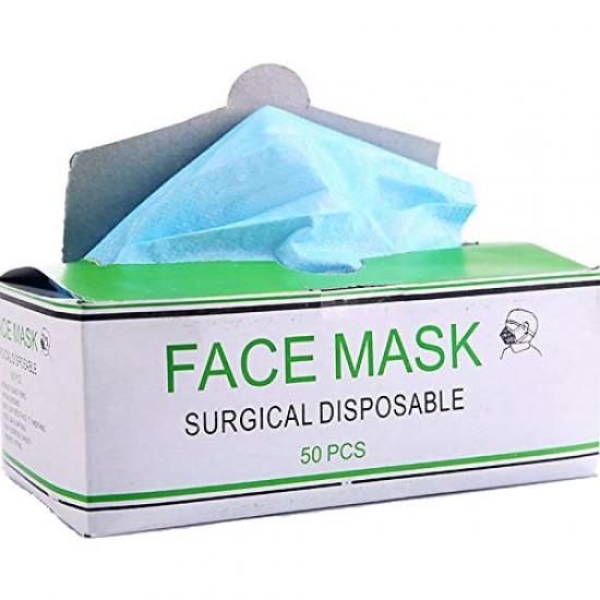 Surgical Face Mask Ear Loop Each Box 50 pcs.