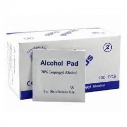 Alcohol Swabs Medium Size Qty:100Pcs/Pkt