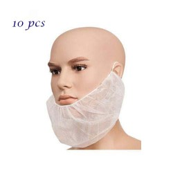 NON WOVEN BEARD COVER Packet/10Pcs.