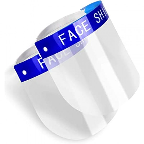 Protective Face Shield Clear 10 pcs.