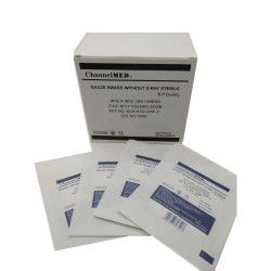 """Gauze Swabs Without X-Ray Non Sterile 2"""" *2"""" -8 Ply. 100Pcs/Pkt"""